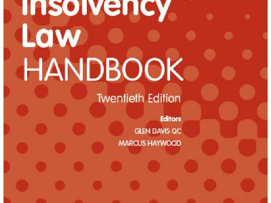 Butterworths Law Insolvency Handbook 20th Edition